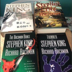 Stephen King hardback book bundle